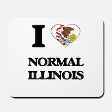 I love Normal Illinois Mousepad