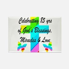 85 YR OLD BLESSING Rectangle Magnet