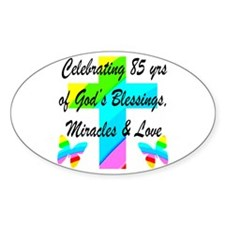 85 YR OLD BLESSING Decal