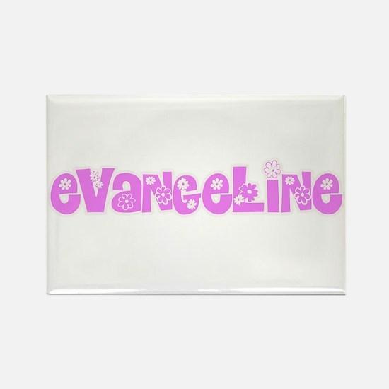Evangeline Flower Design Magnets