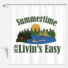 Livins Easy Shower Curtain