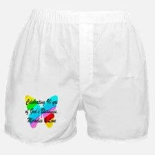 90 YR OLD BLESSING Boxer Shorts