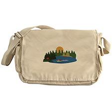 Lake House Messenger Bag