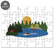 Lake House Puzzle