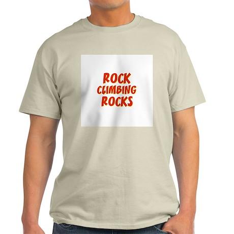 Rock Climbing Rocks Light T-Shirt