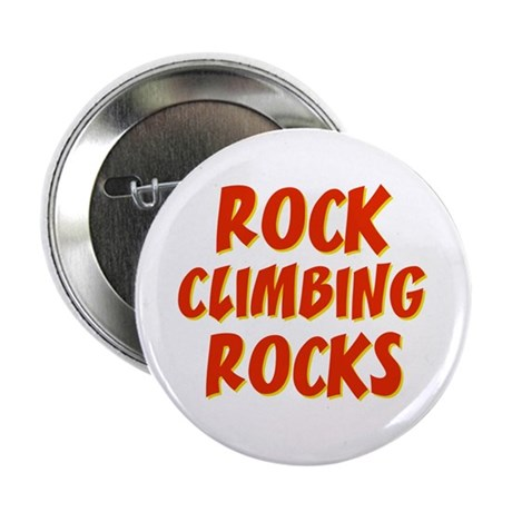 "Rock Climbing Rocks 2.25"" Button (10 pack)"