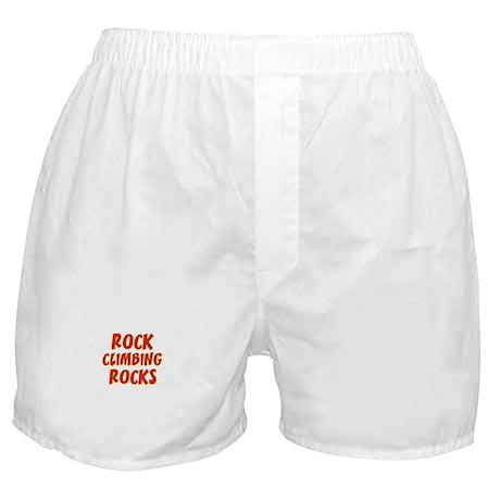 Rock Climbing Rocks Boxer Shorts