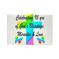 95 YR OLD BLESSING Rectangle Magnet