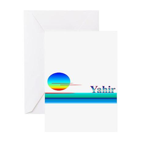 Yahir Greeting Card