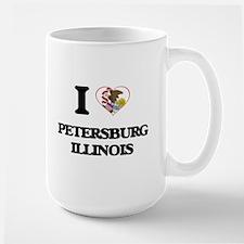 I love Petersburg Illinois Mugs