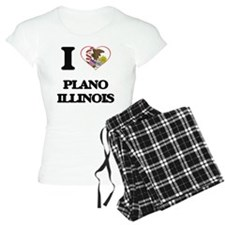 I love Plano Illinois Pajamas
