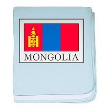 Mongolia baby blanket