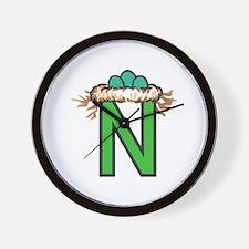 N Nest Wall Clock