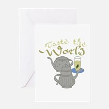 Taste the World Greeting Cards