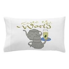 Taste the World Pillow Case