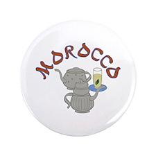 Morocco Tea Button