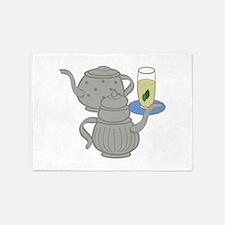 Moroccan Mint Tea 5'x7'Area Rug