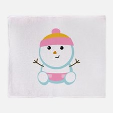 SNOWBABY Throw Blanket