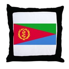 Eritrean Flag Throw Pillow