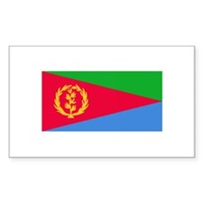 Eritrean Flag Rectangle Decal