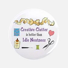 CRAEATIVE CLUTTER Button
