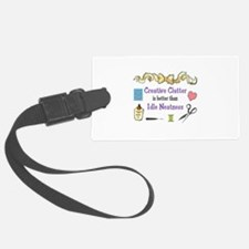 CRAEATIVE CLUTTER Luggage Tag