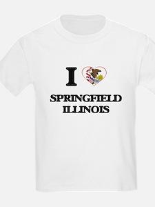 I love Springfield Illinois T-Shirt