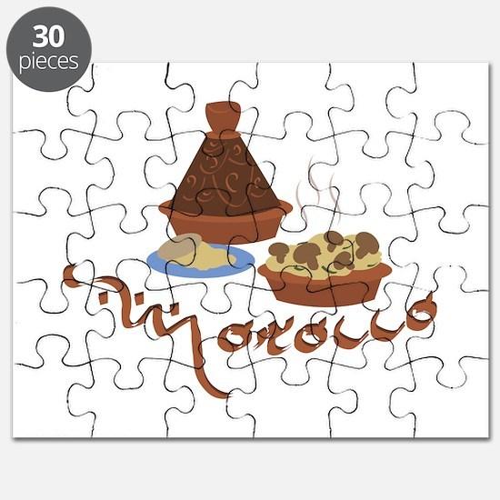 Tagine Morocco Puzzle