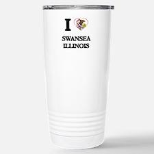 I love Swansea Illinois Travel Mug
