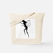Pregnant Fairy Silhouette Tote Bag