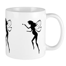 Pregnant Fairy Silhouette Mug