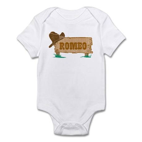 Romeo western Infant Bodysuit