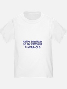 Happy Birthday To My Favorite T
