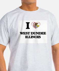 I love West Dundee Illinois T-Shirt