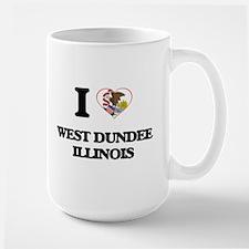 I love West Dundee Illinois Mugs
