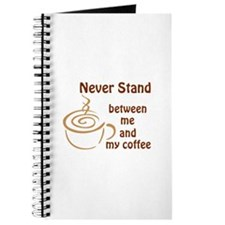 BETWEEN ME AND COFFEE Journal