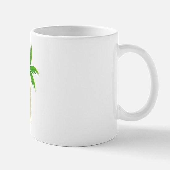 Groom Tropical Wedding Mug