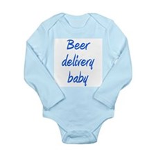 Cute Delivery Long Sleeve Infant Bodysuit