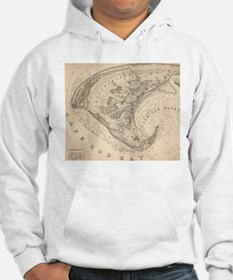 Vintage Map of Provincetown (183 Jumper Hoody