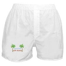 Ring Bearer Tropical Wedding Boxer Shorts