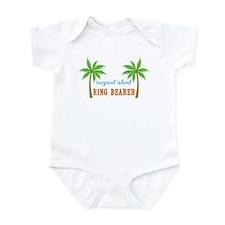 Ring Bearer Tropical Wedding Infant Bodysuit