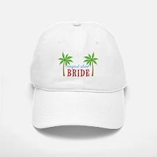 Bride Tropical Island Baseball Baseball Cap