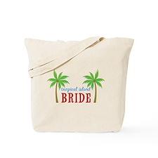Bride Tropical Island Tote Bag