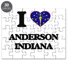 I love Anderson Indiana Puzzle