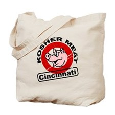 Kosher Meat Pig - Cincinnati Tote Bag