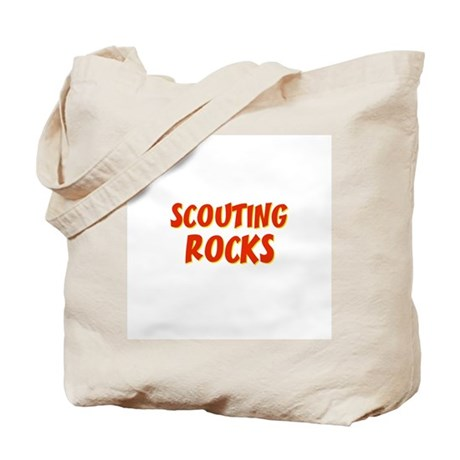Scouting Rocks Tote Bag