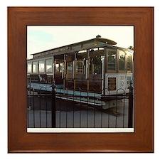 San Francisco Trolley Framed Tile