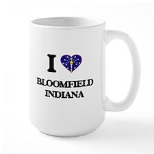 I love Bloomfield Indiana Mugs