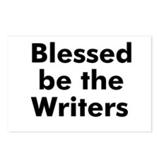 Blessed be the Writers Postcards (Package of 8)
