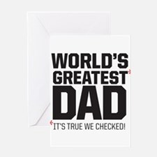 Wolrd's Greatest Dad, it's true we checked! Greeti